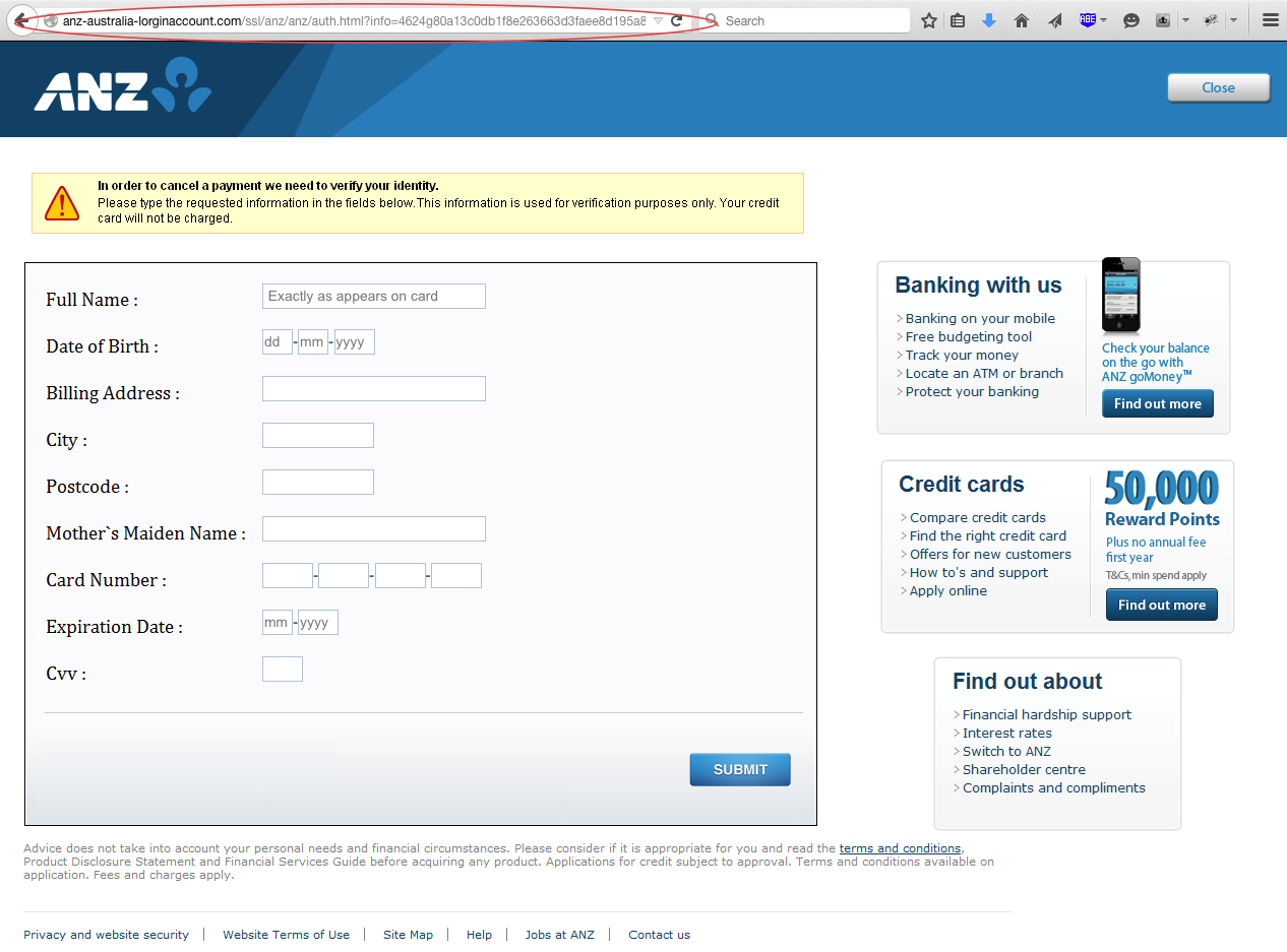 how to close an anz account with bank mail online