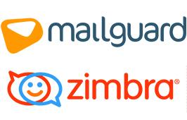 MailGuard and Zimbra Logo_266w X 170h