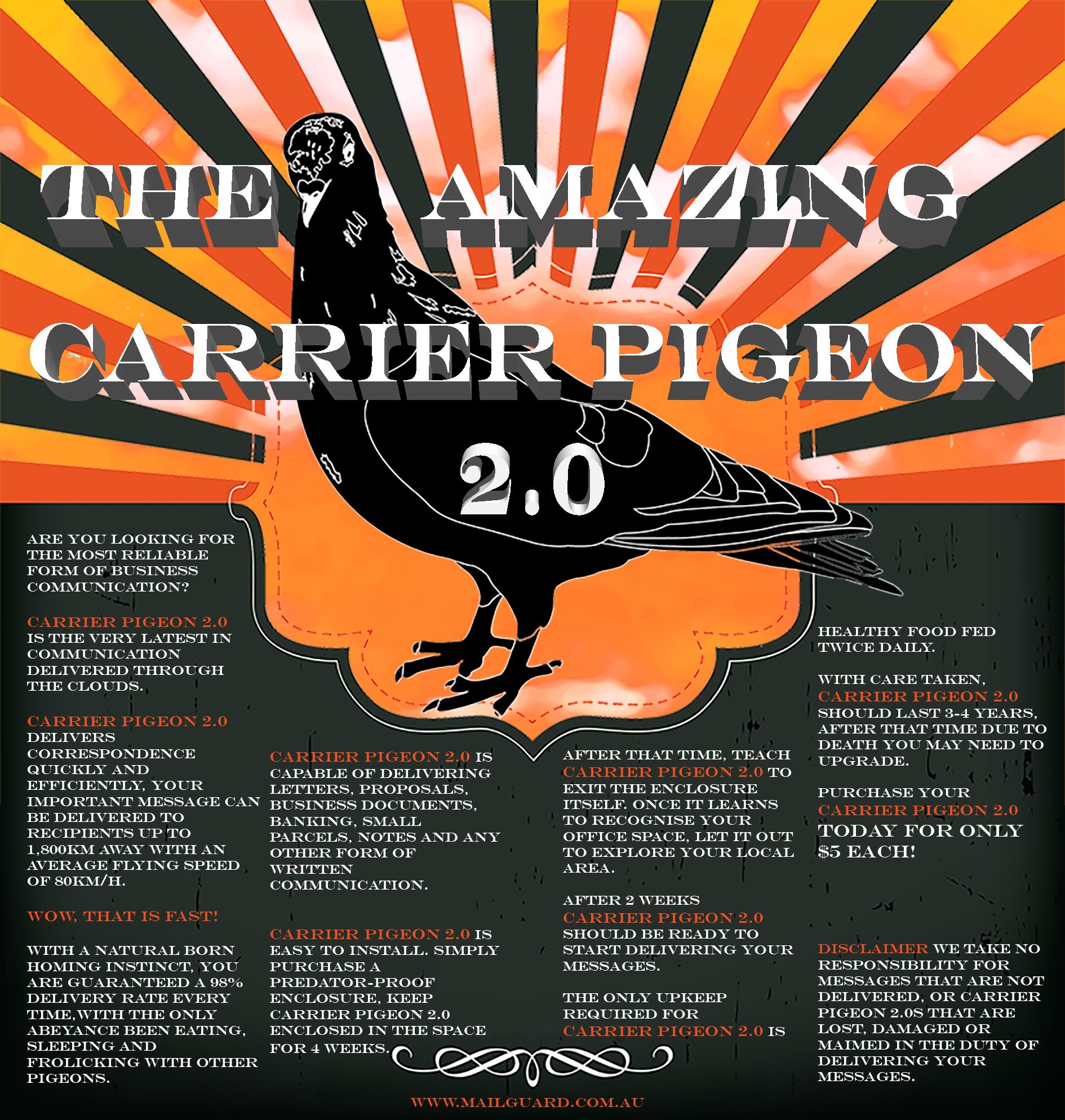 Carrier Pigeon Med