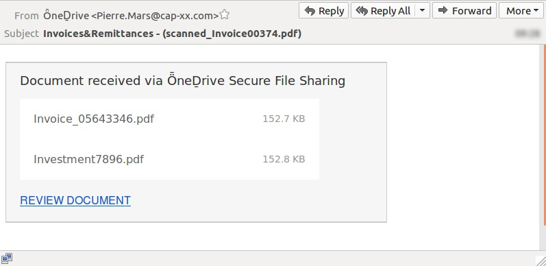 Phishing scam brandjacks OneDrive