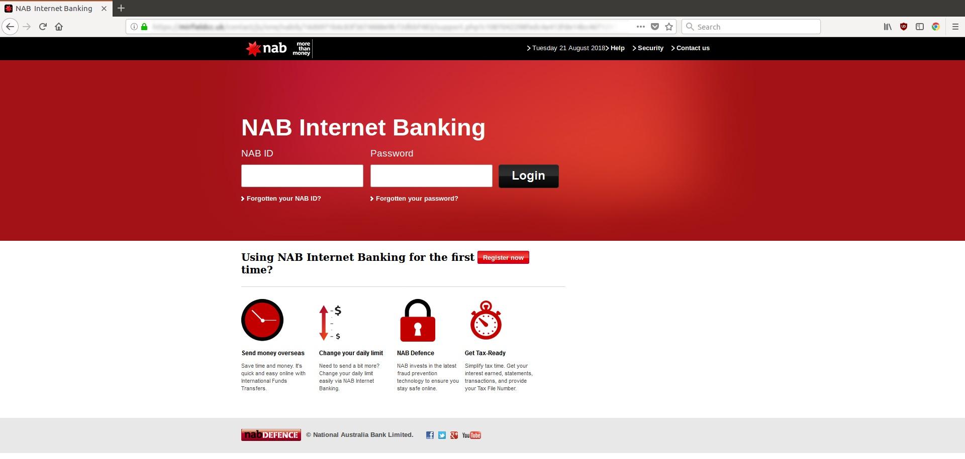 NAB Bank branding hijacked in new credit card fraud