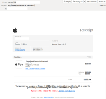 Phishing email alert: Apple Pay brandjacked in sophisticated attack