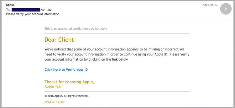 Latest Apple phishing scam: Fake or real? Can you pick the good from
