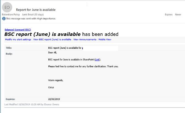 Watch Out: BSC report email links to Excel-branded phishing page