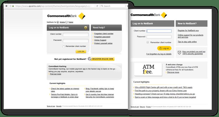 CBA scam_login comparison Sept 26.png