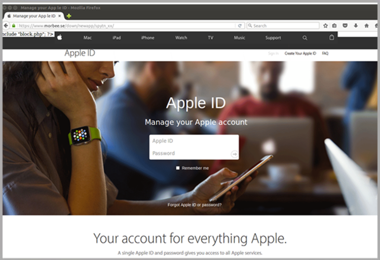 Bad Apple - New Email Phishing Scam Targets User Credentials