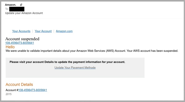 how to cancel amazon web services account