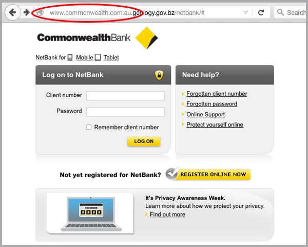 Yet Another Commonwealth Bank 'New Statement' Email Phishing