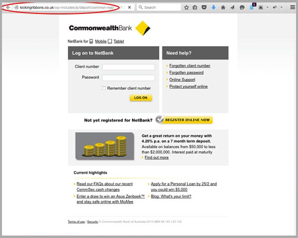 commonwealth online banking login