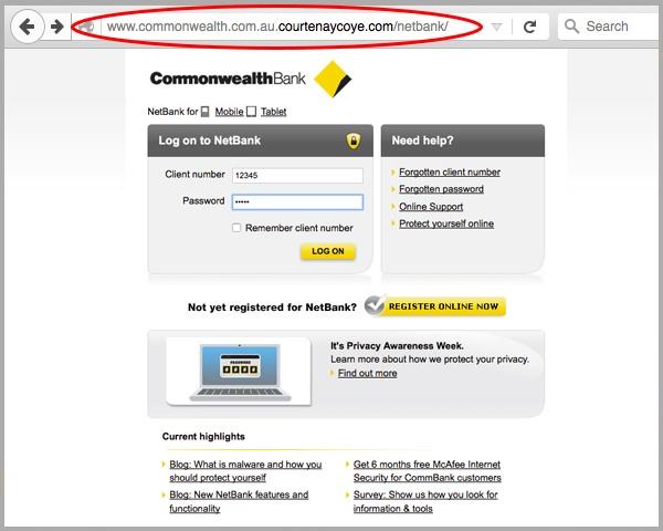commonwealth online banking login