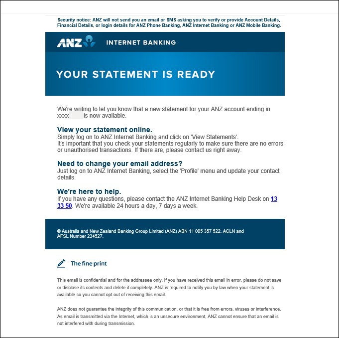 Warning: ANZ impersonated in high-risk malware scam