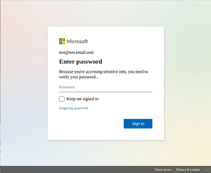Microsoft test 2
