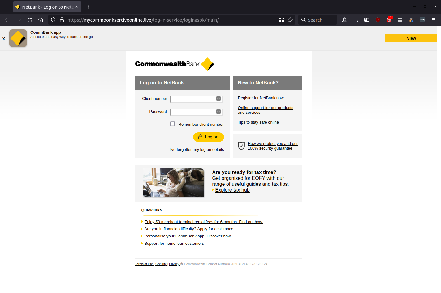 NetBank - Log on to NetBank - Enjoy simple and secure online banking from Commonwealth Bank — Mozilla Firefox_662