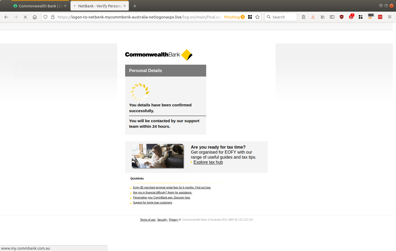 NetBank - Verify Personal Details — Mozilla Firefox_602