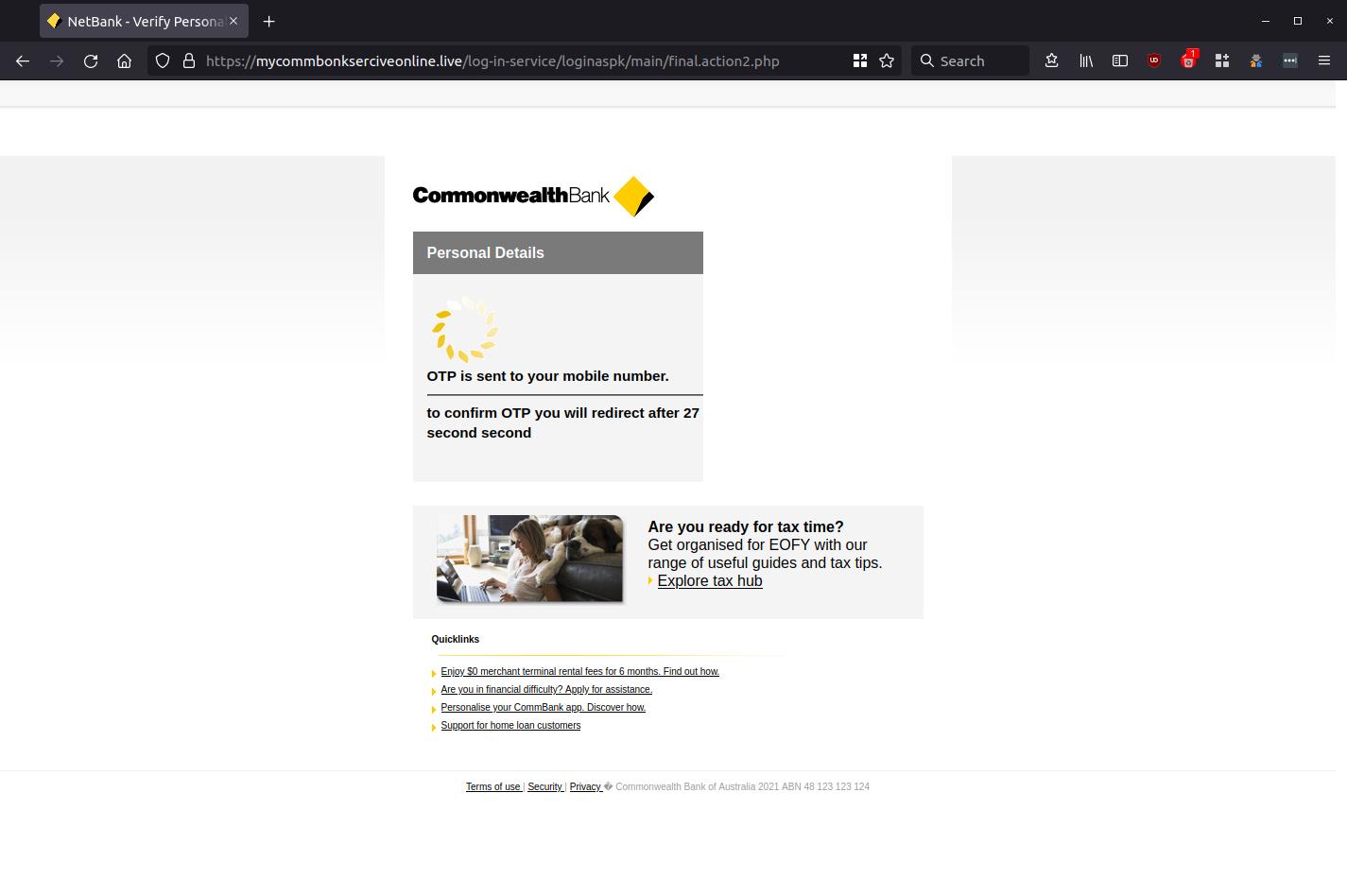 NetBank - Verify Personal Details — Mozilla Firefox_666