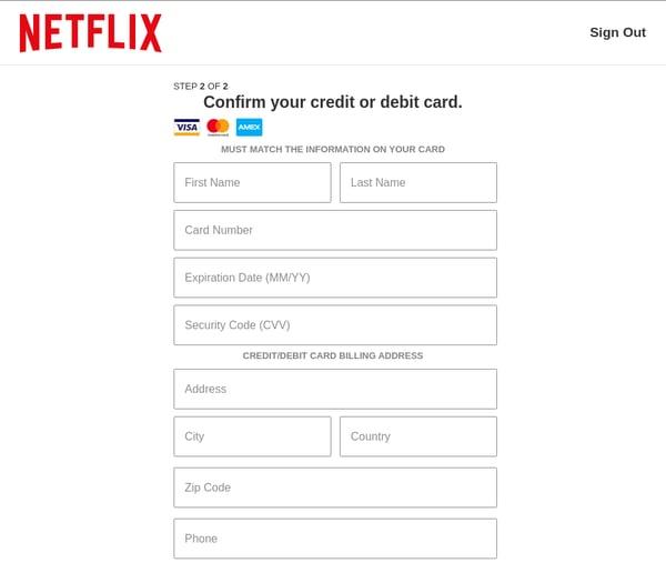 Netflix - confirm credit card-0221