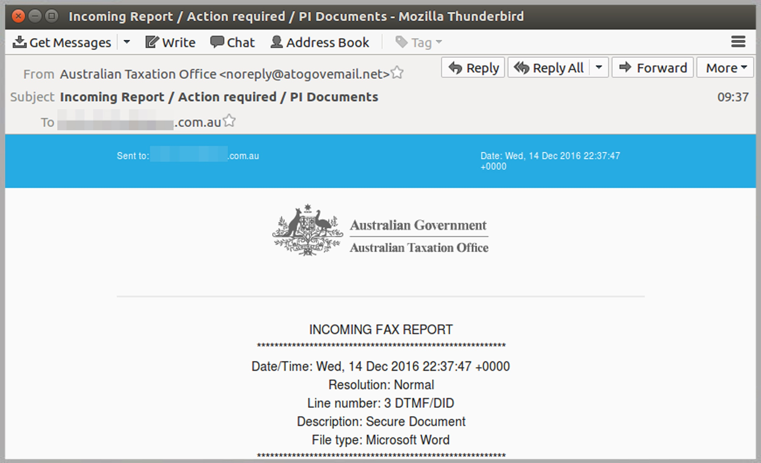 New batch of malicious fake ATO emails hits Australian inboxesMailGuard.jpg