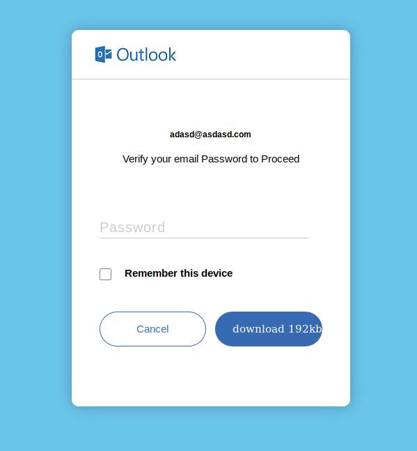 VM password
