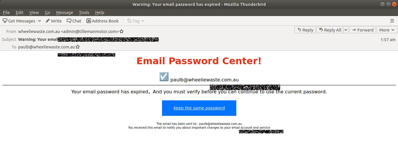 Warning- Your email password has expired - Mozilla Thunderbird_697-1