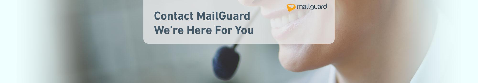 Contact MailGuard