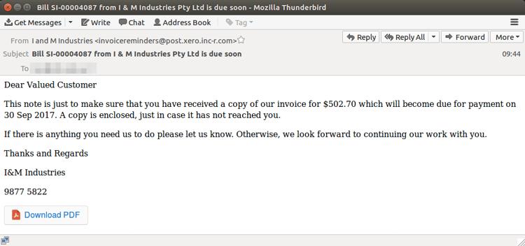 Xero phishing email Sept 26.png