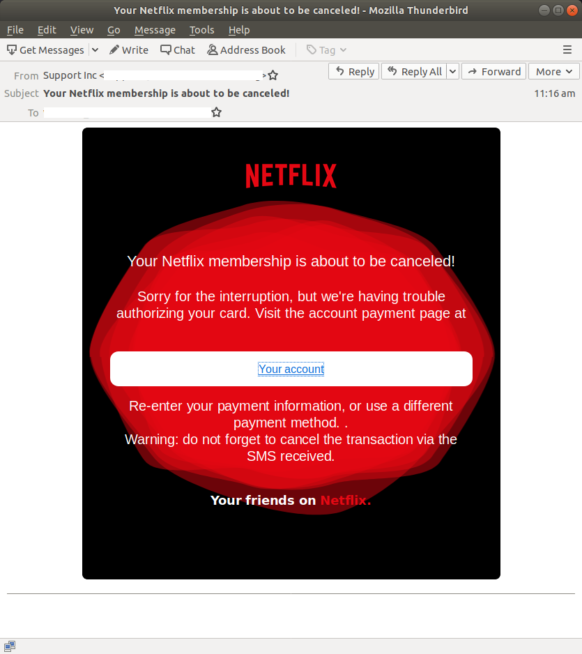Your Netflix membership is about to be canceled! - Mozilla Thunderbird_638