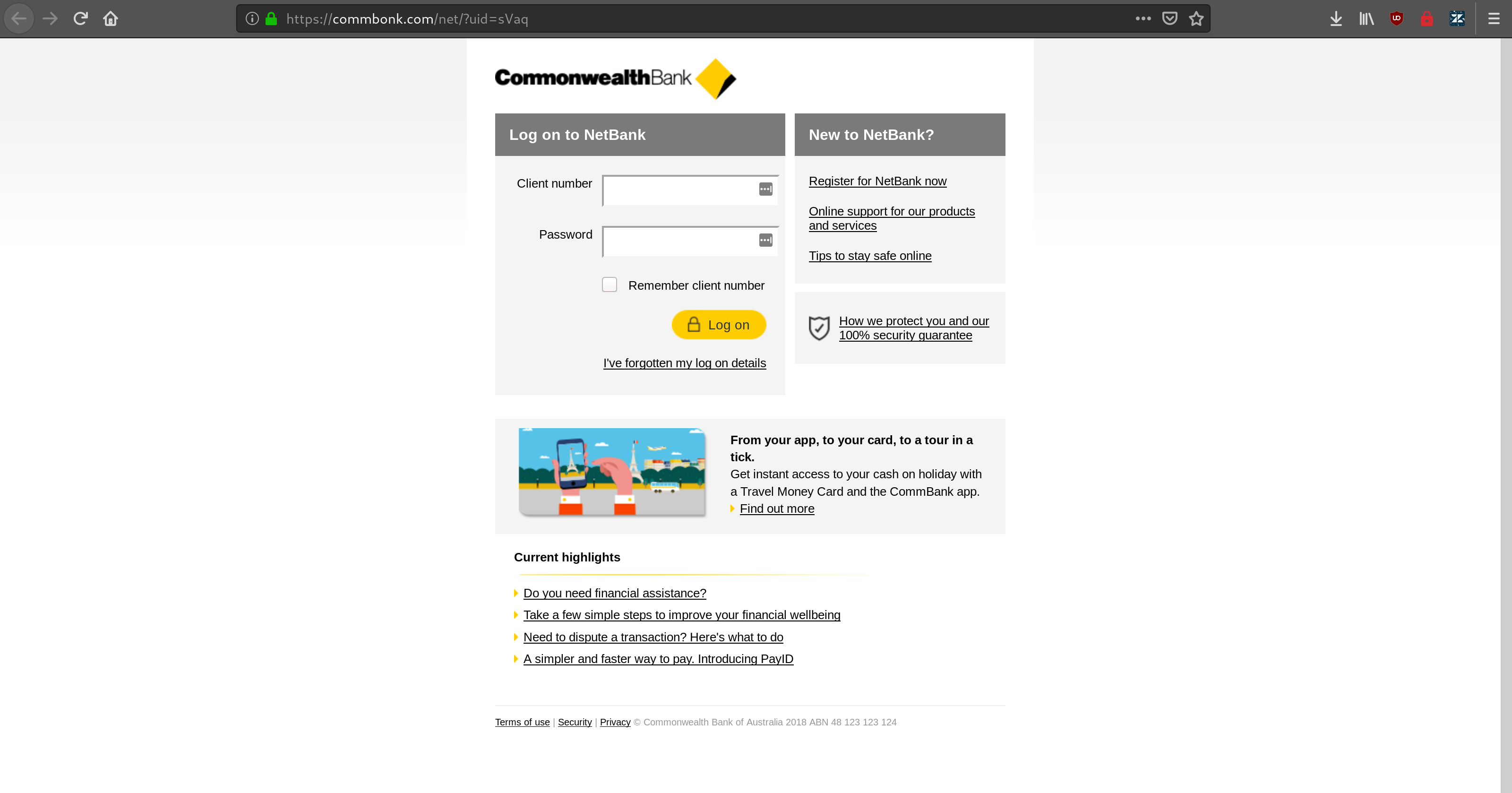 commbank 2911 2