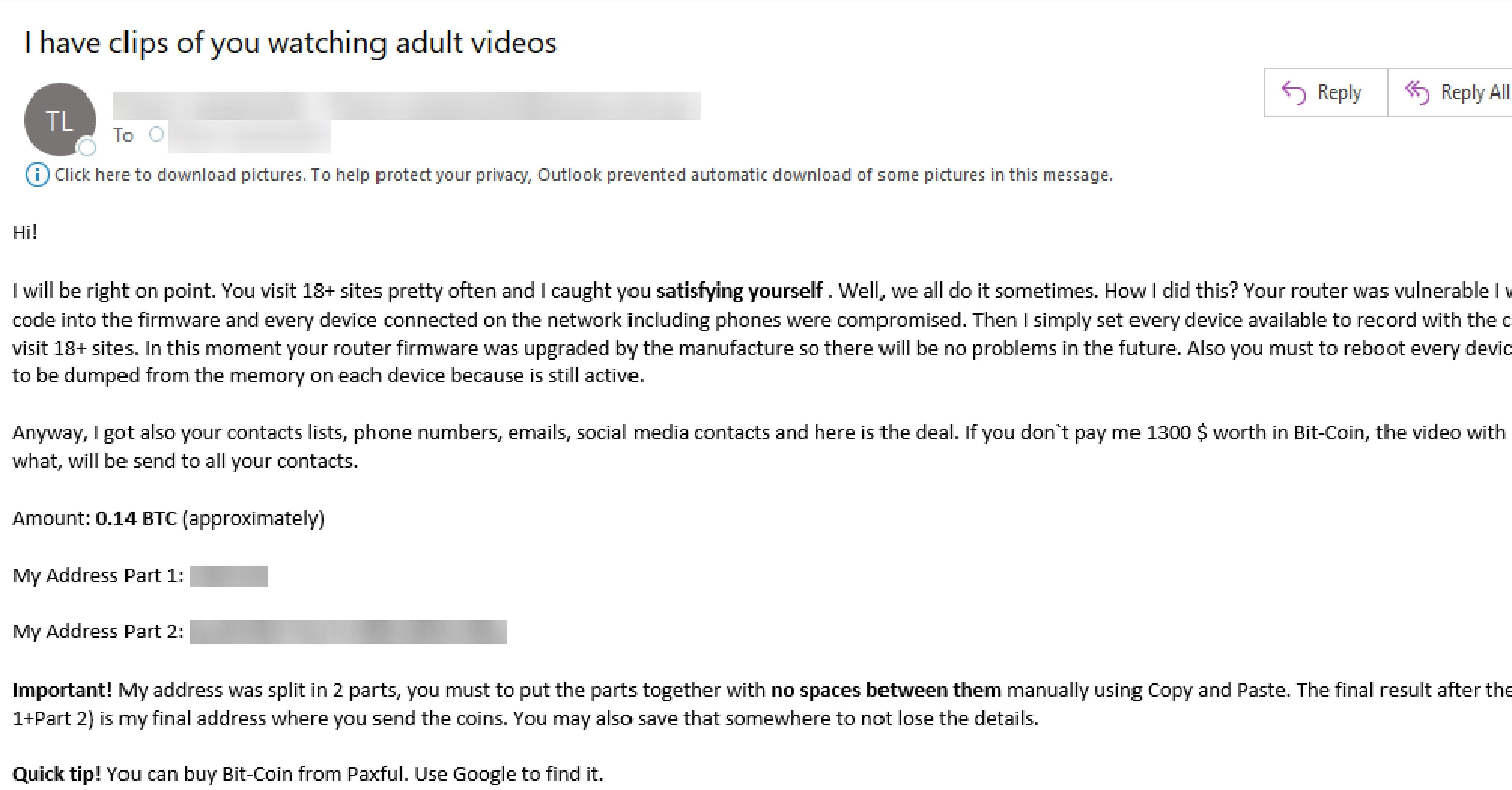 extortion phishing 040220
