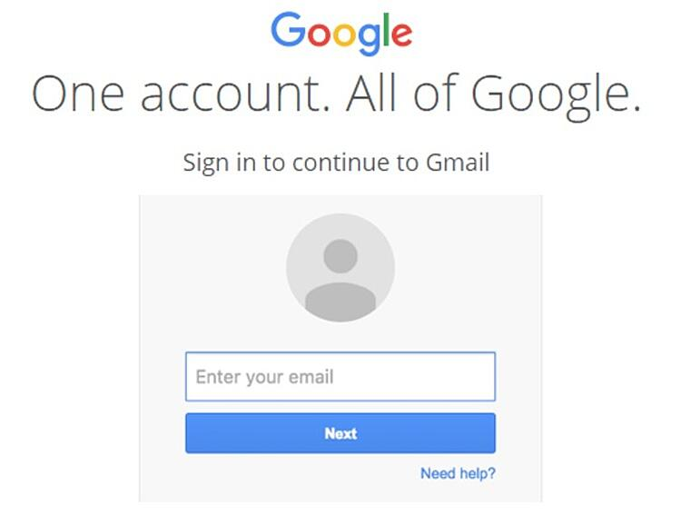 how to know if fake email from google