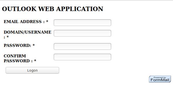 phishing email site