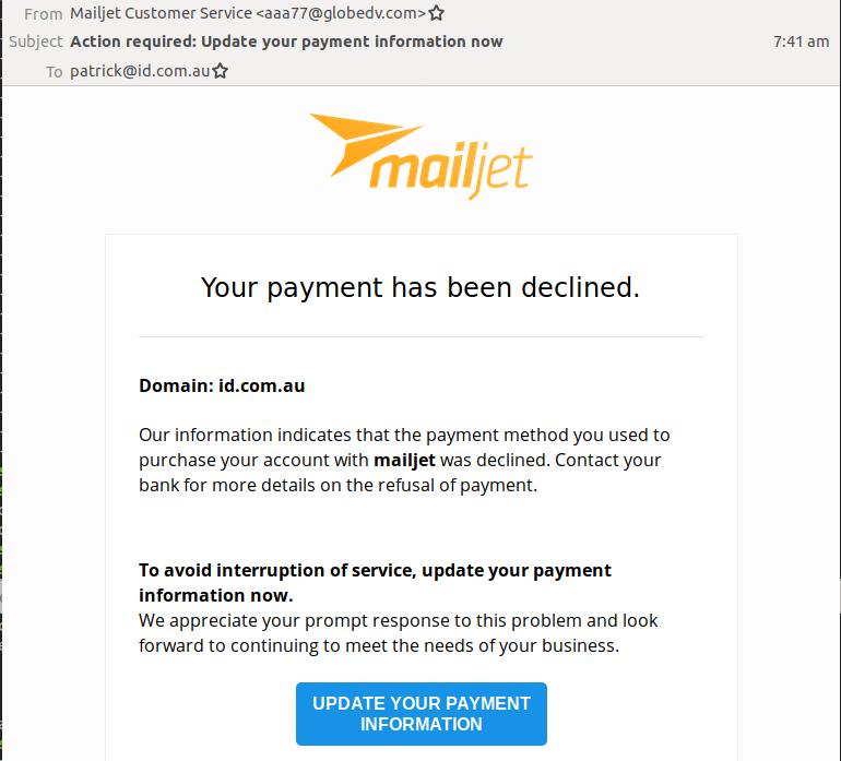 scam 1303
