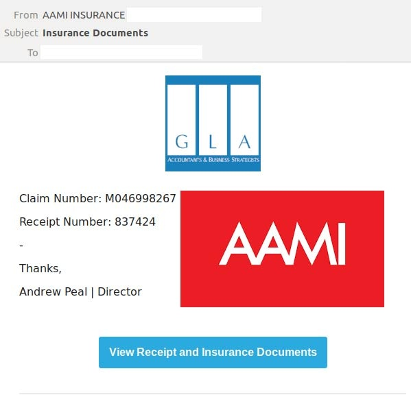 AAMI Scam