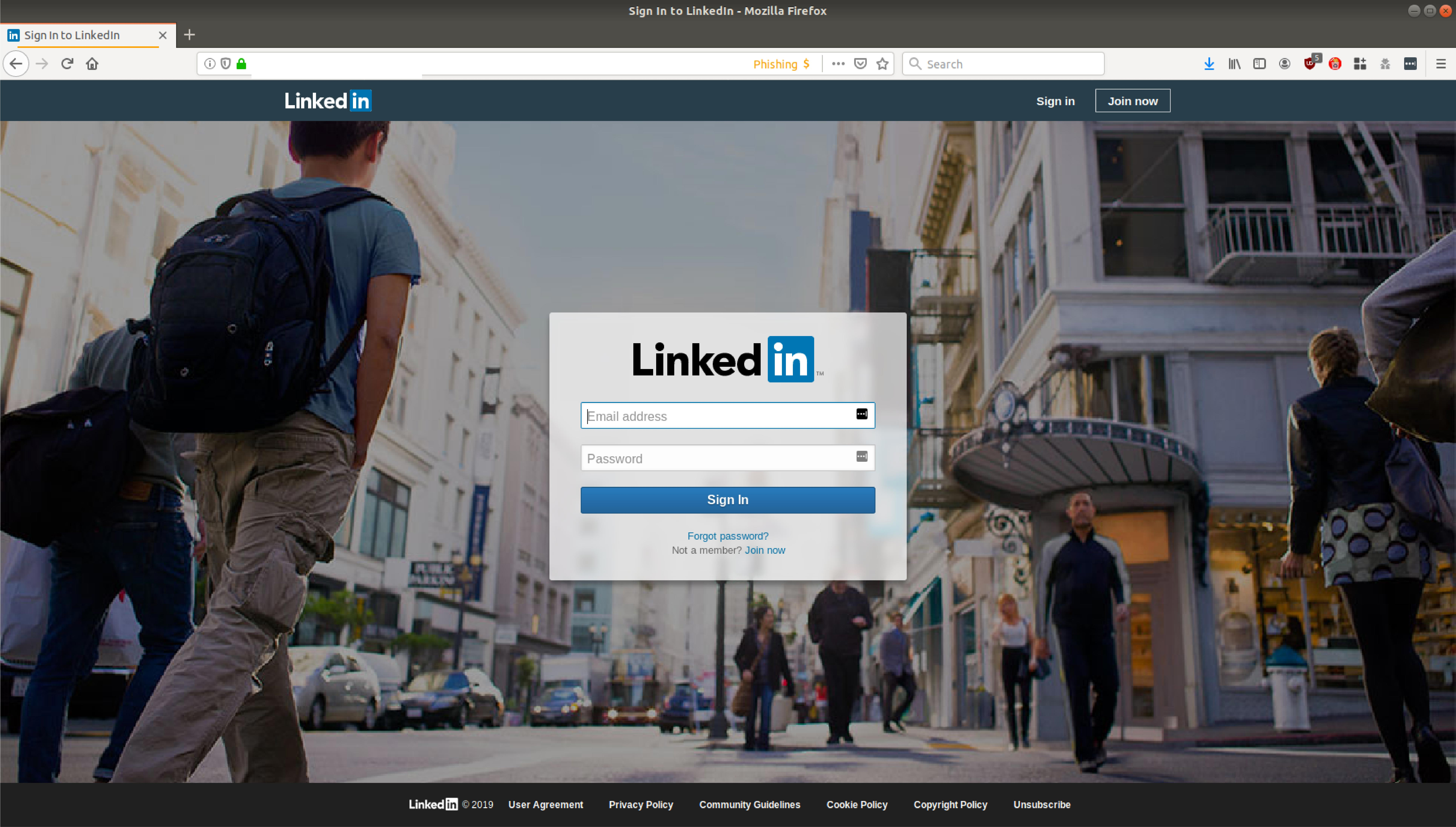 New message' email supposedly sent via LinkedIn leads to a