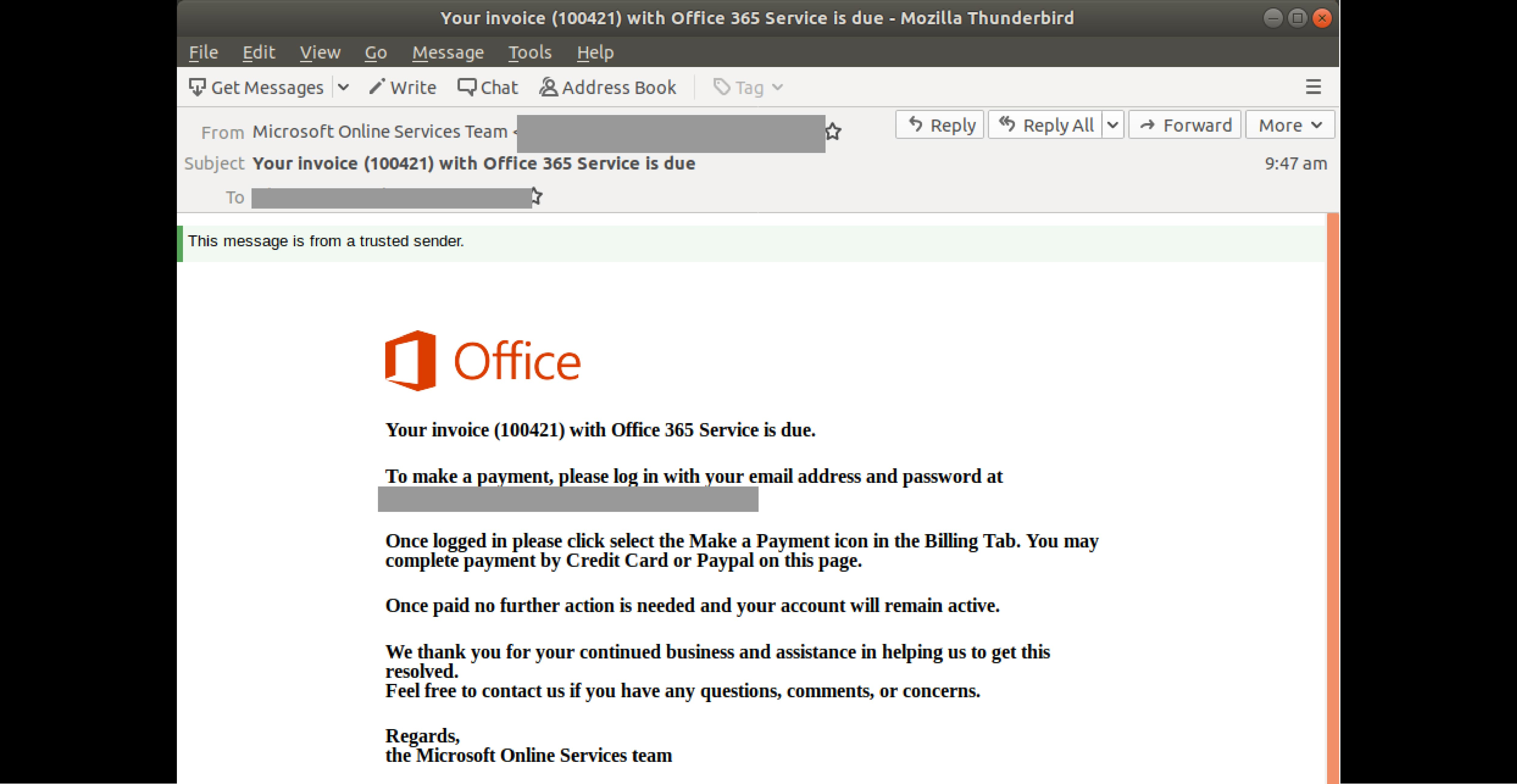 Office 365 invoice_2310 edited