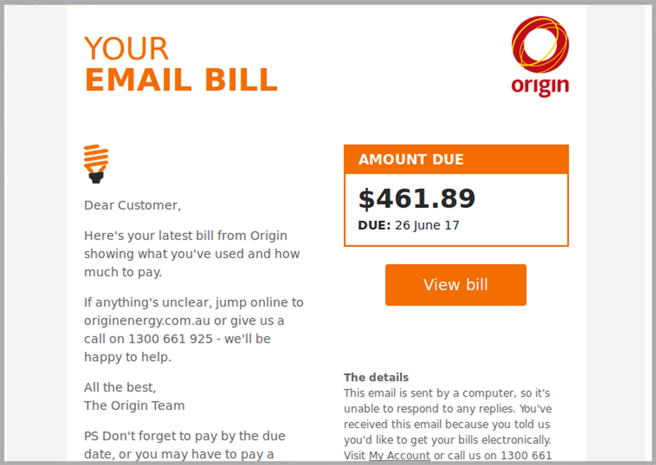 Scam Avalanche Continues Origin Energy Attack One Of
