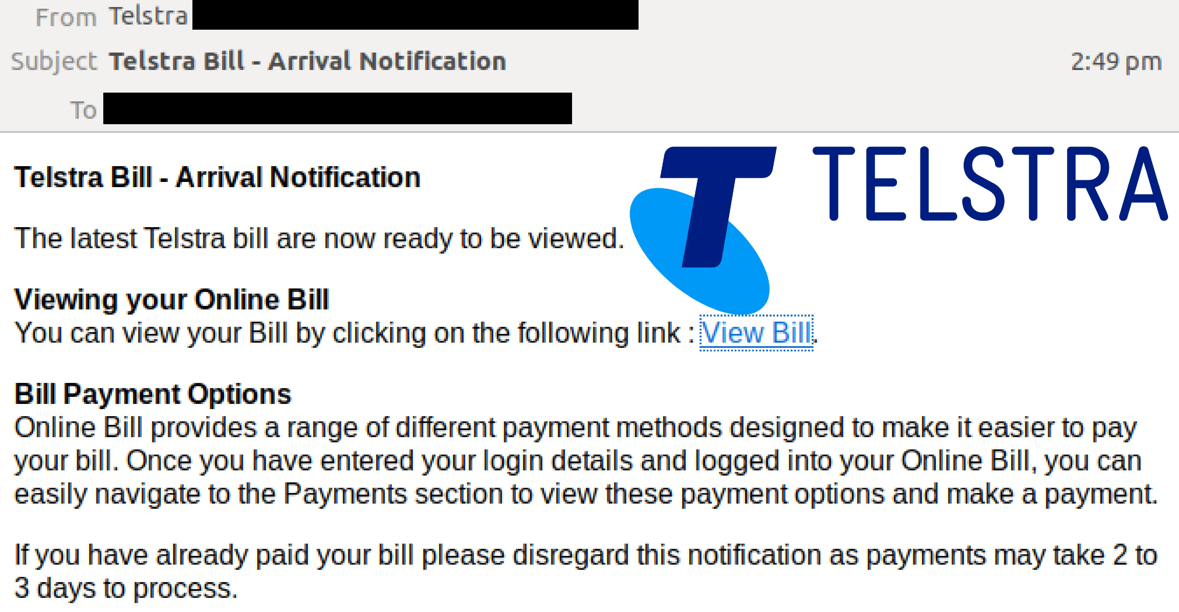 Telstra Email Scam_090119
