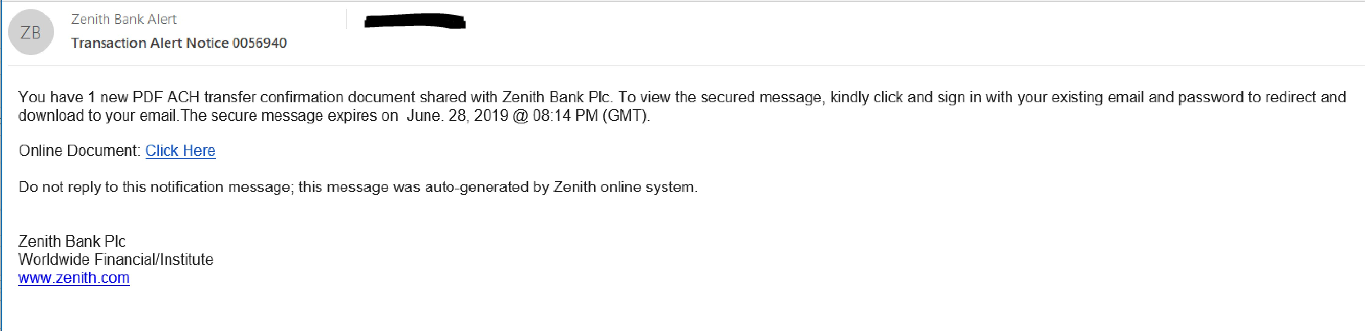 The Zenith Payroll Report Form